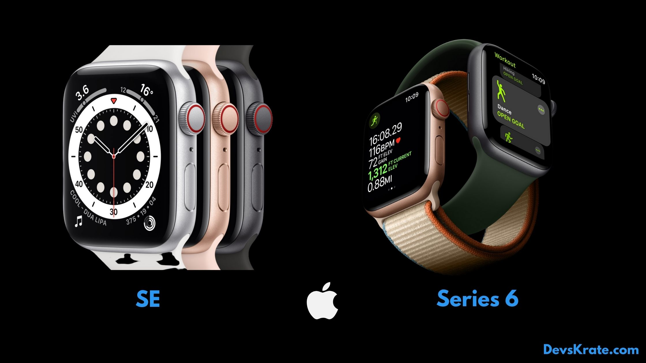 Unveling Apple watch series 6 and watch SE