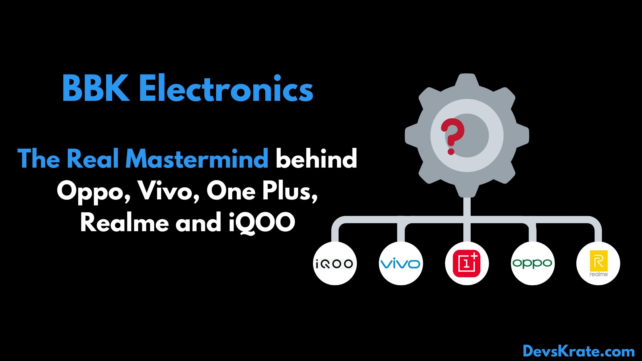 BBK Electronics - The real mastermind behind Oppo, Vivo, One Plus, Realme and iQOO
