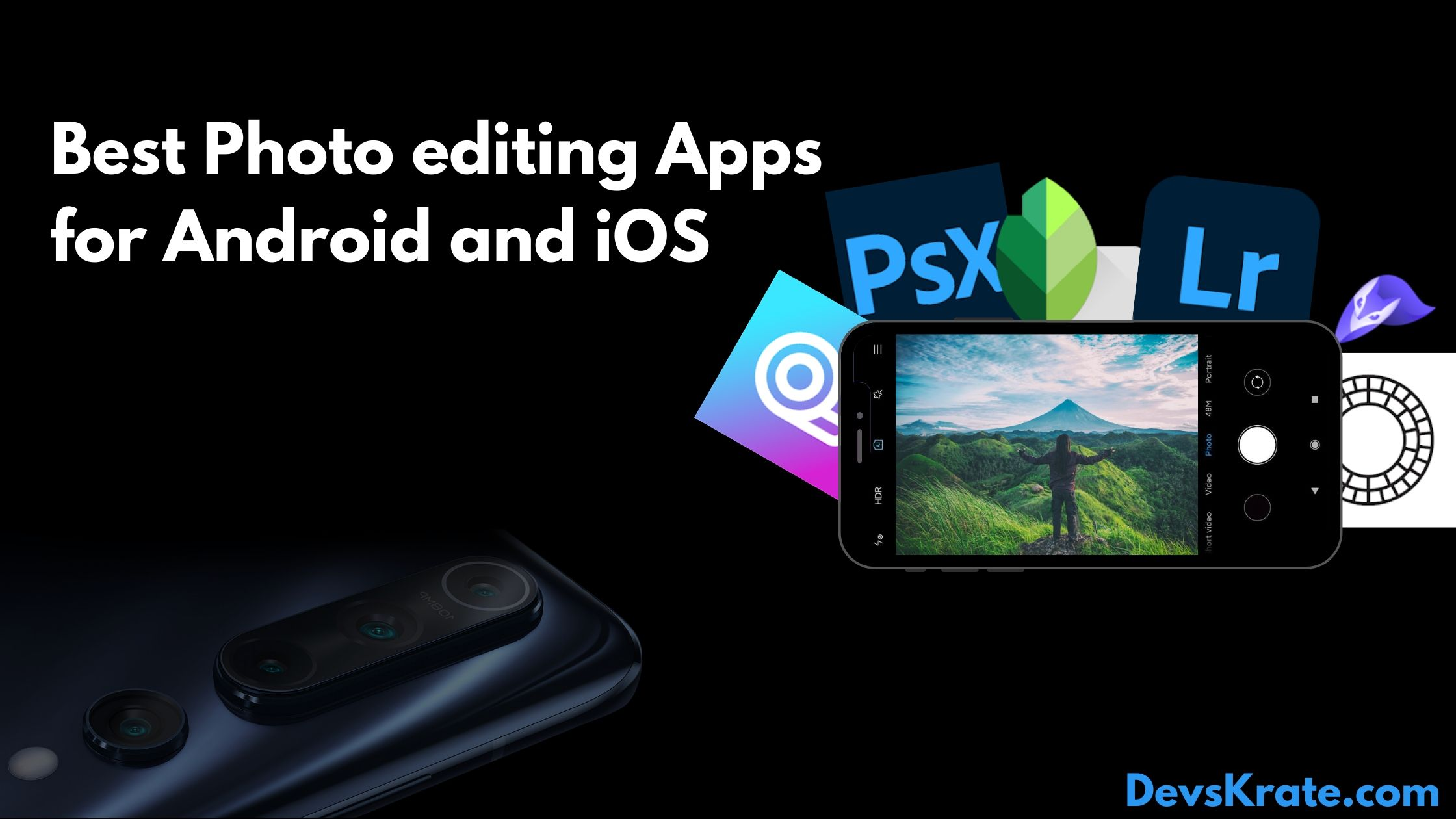 6 photo-editing apps for mobile photographers
