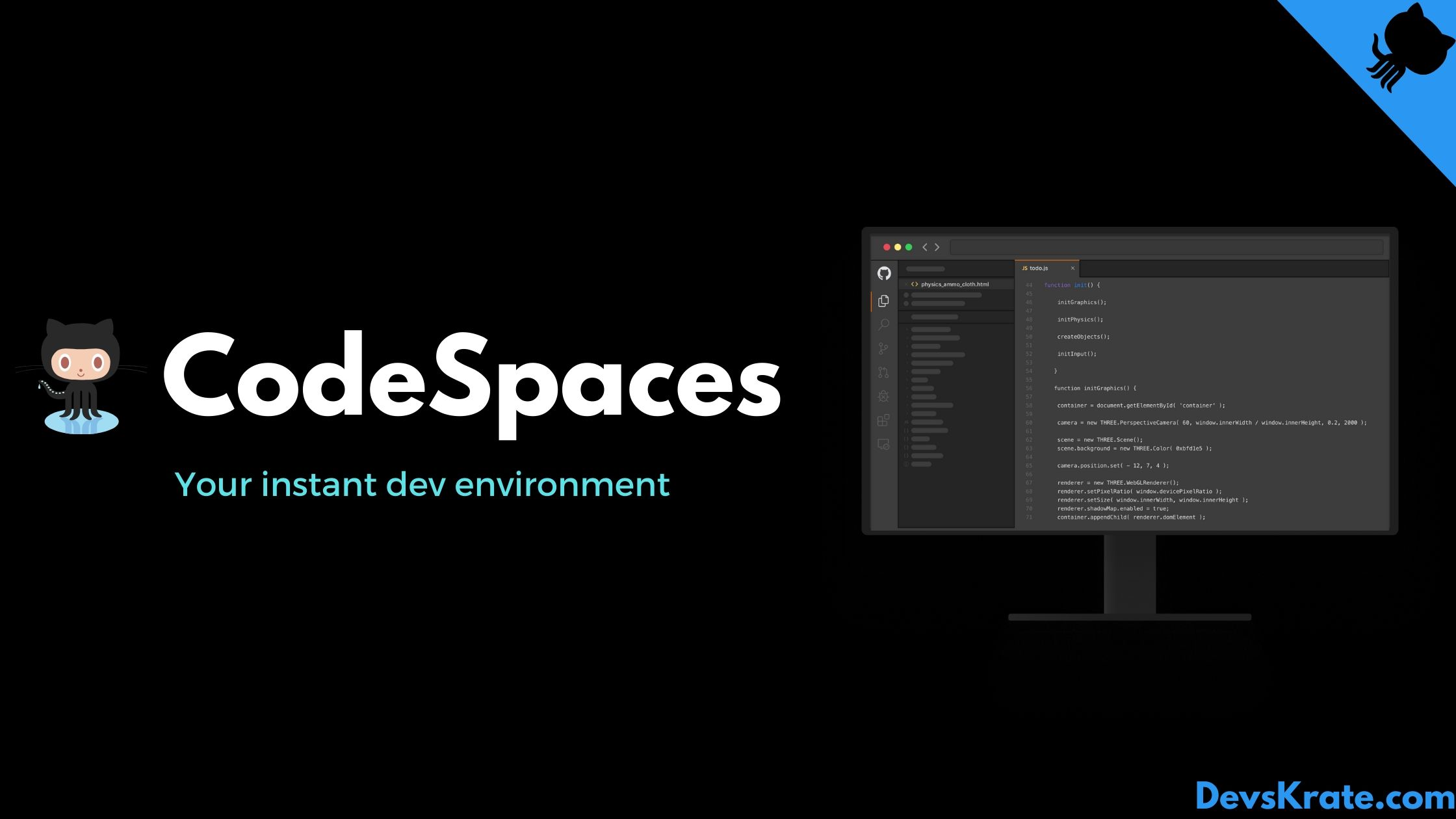GitHub CodeSpaces - Your instant Dev Environment