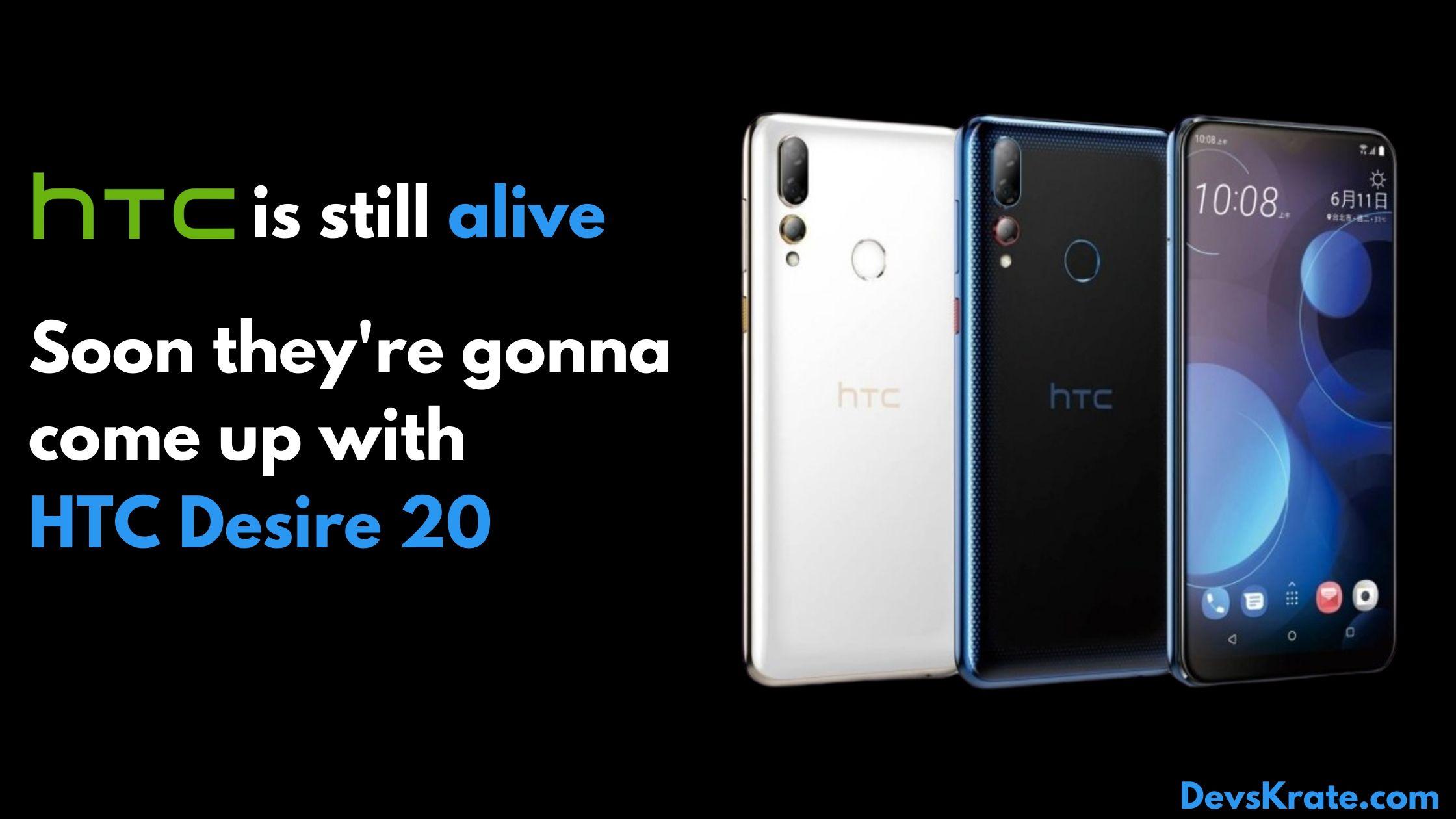 HTC Desire 20 launch date