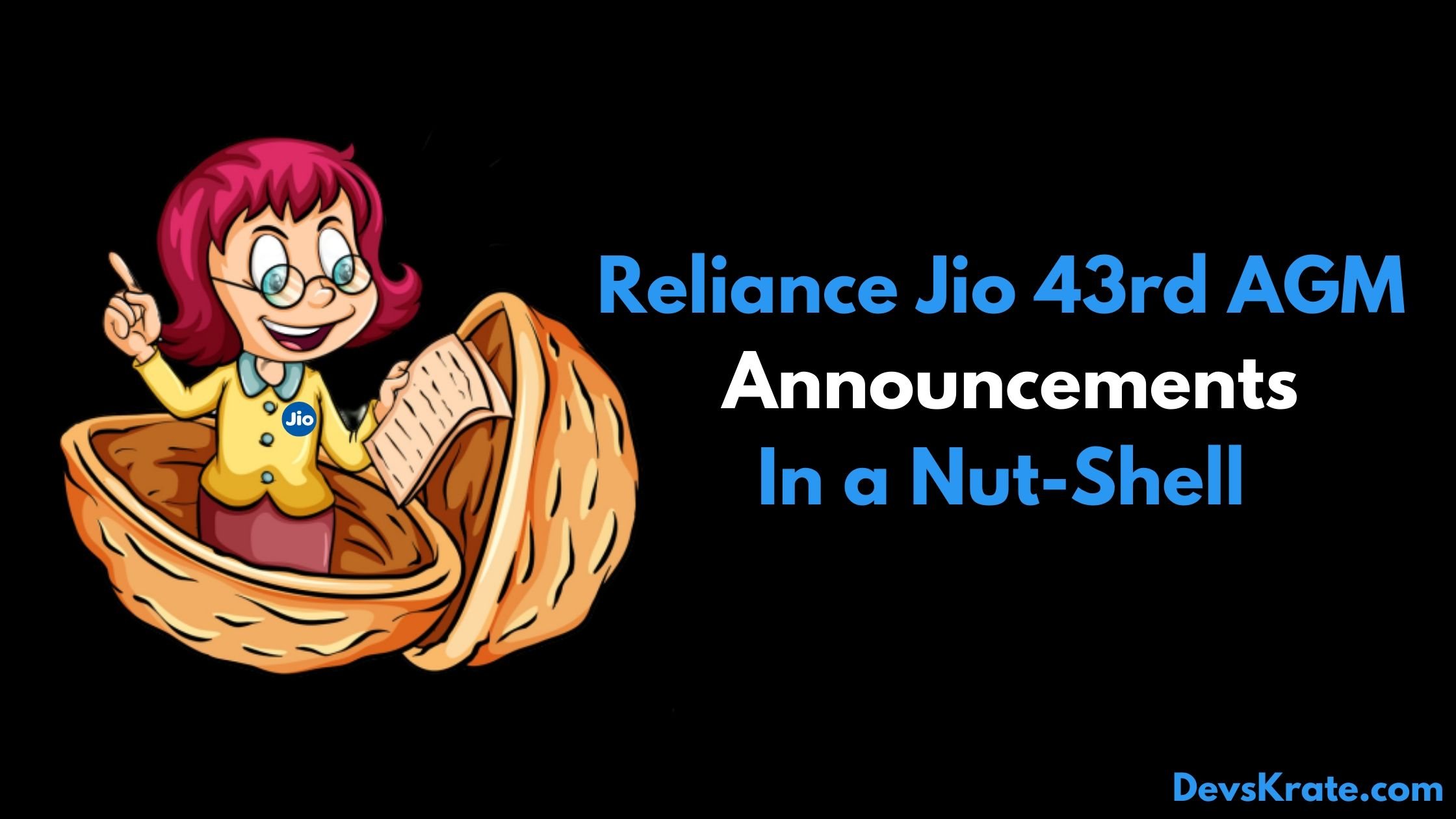 Reliance 43rd AGM 1st Virtual Event summary