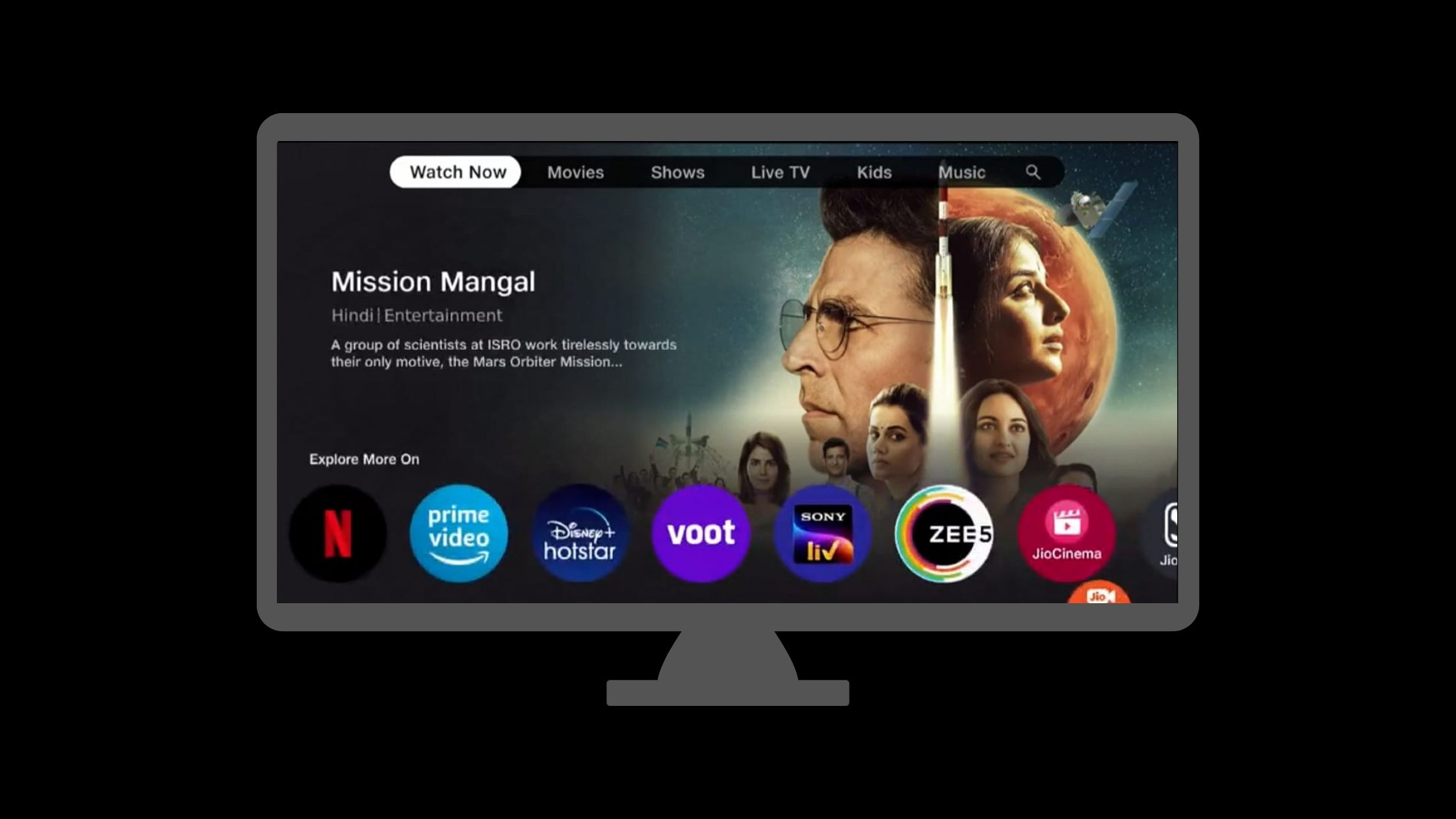 Jio TV Plus and setup box service in India