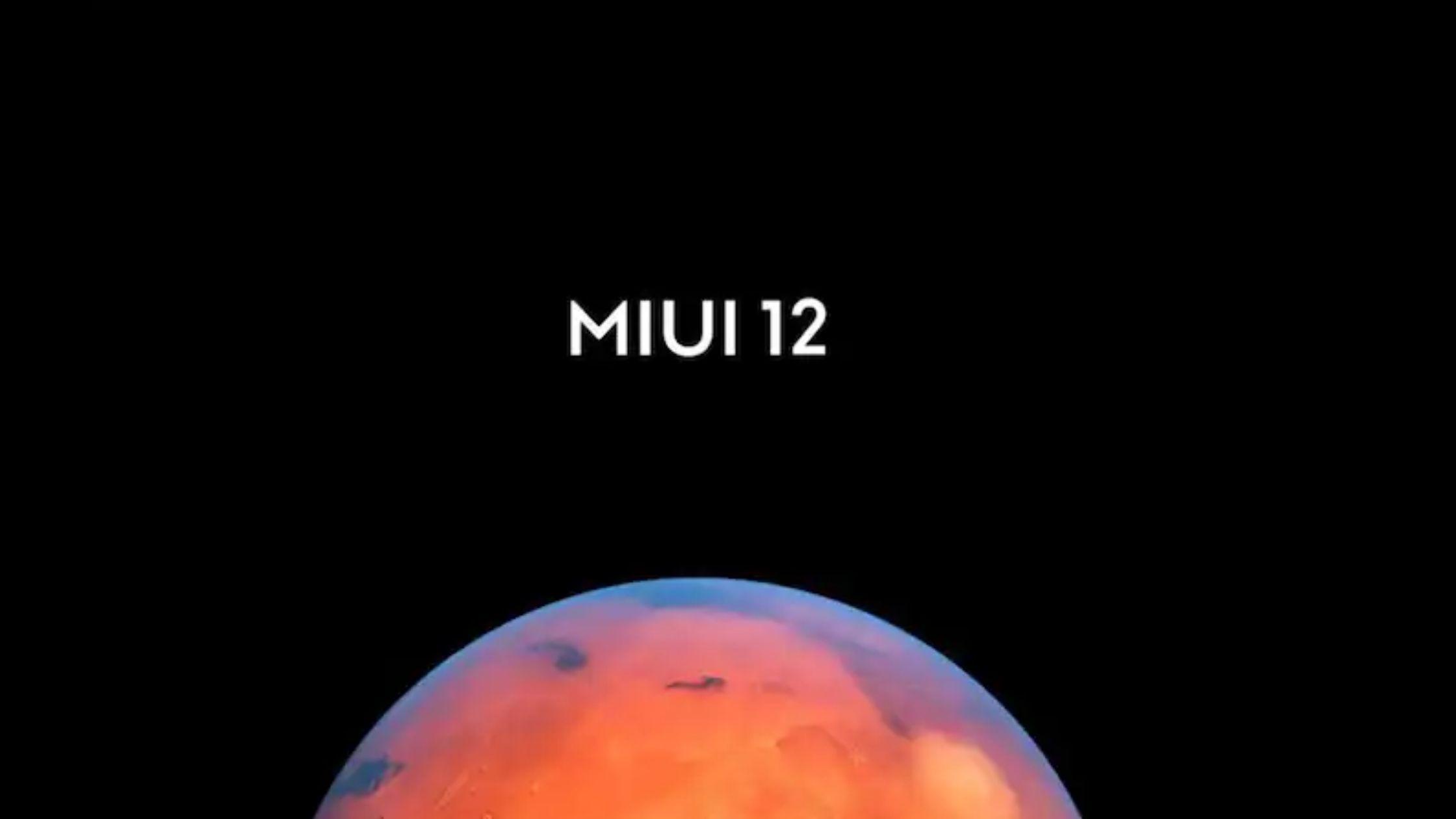 MiUI 12 features