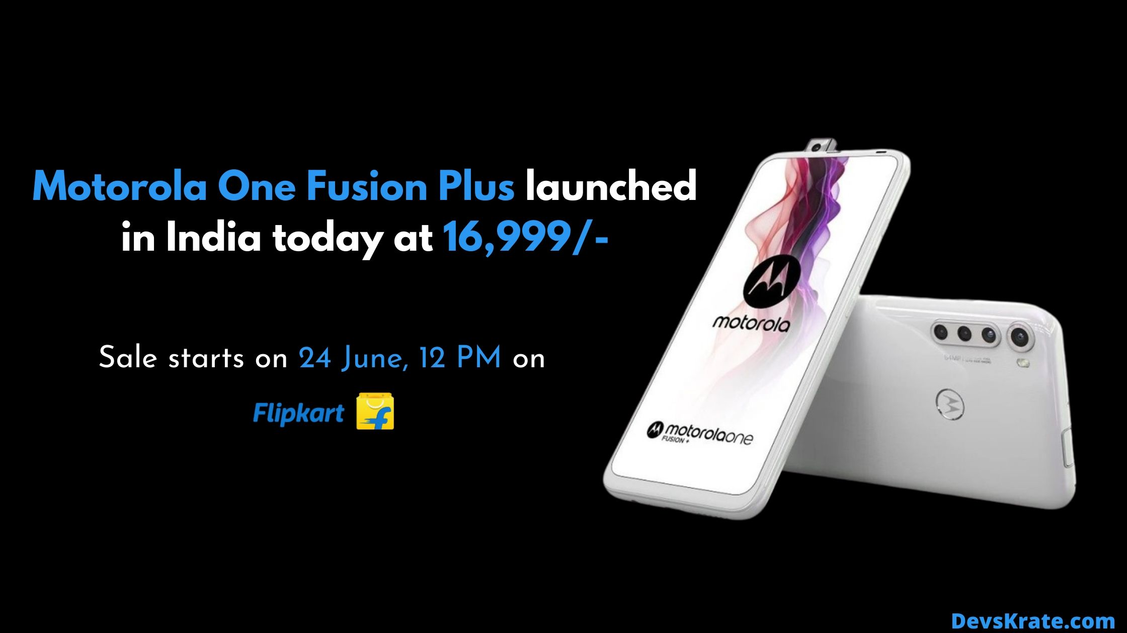 Moto One Fusion Launched in India