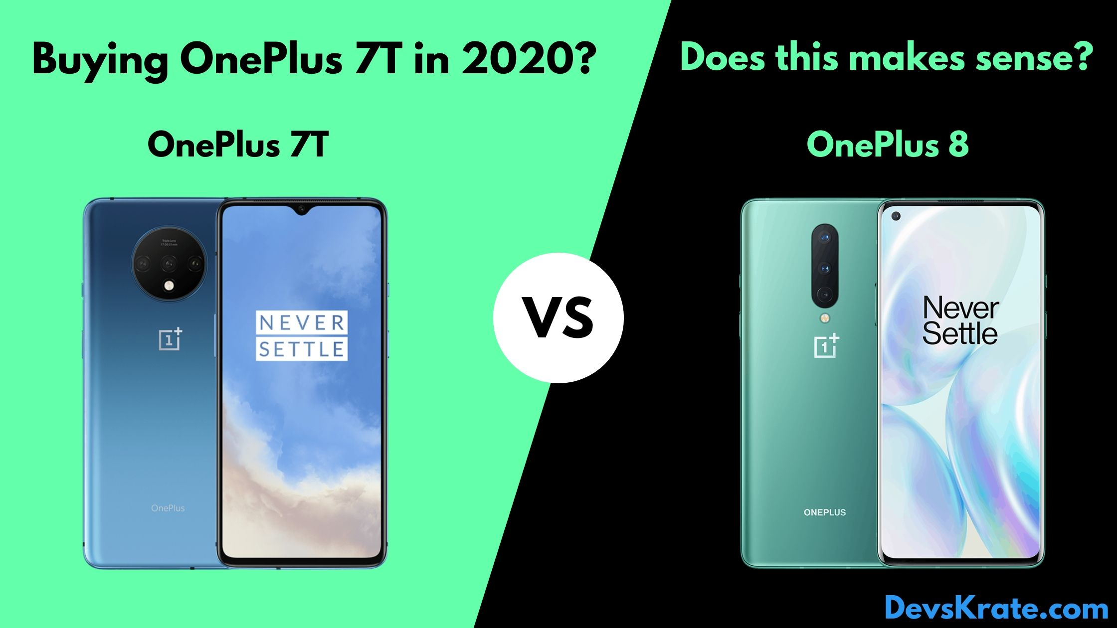 Is it Worth Buying OnePlus 7T over OnePlus 8