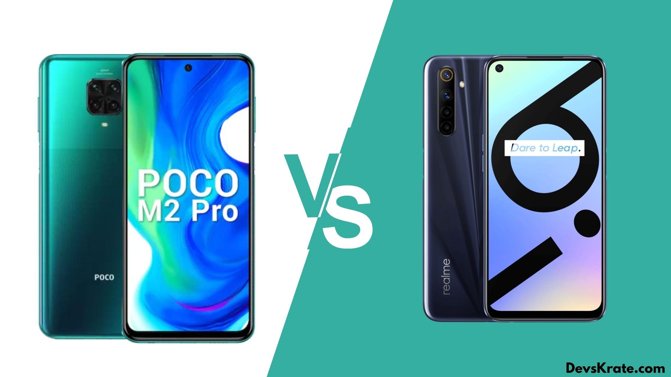 Poco M2 Pro V/S Realme 6i