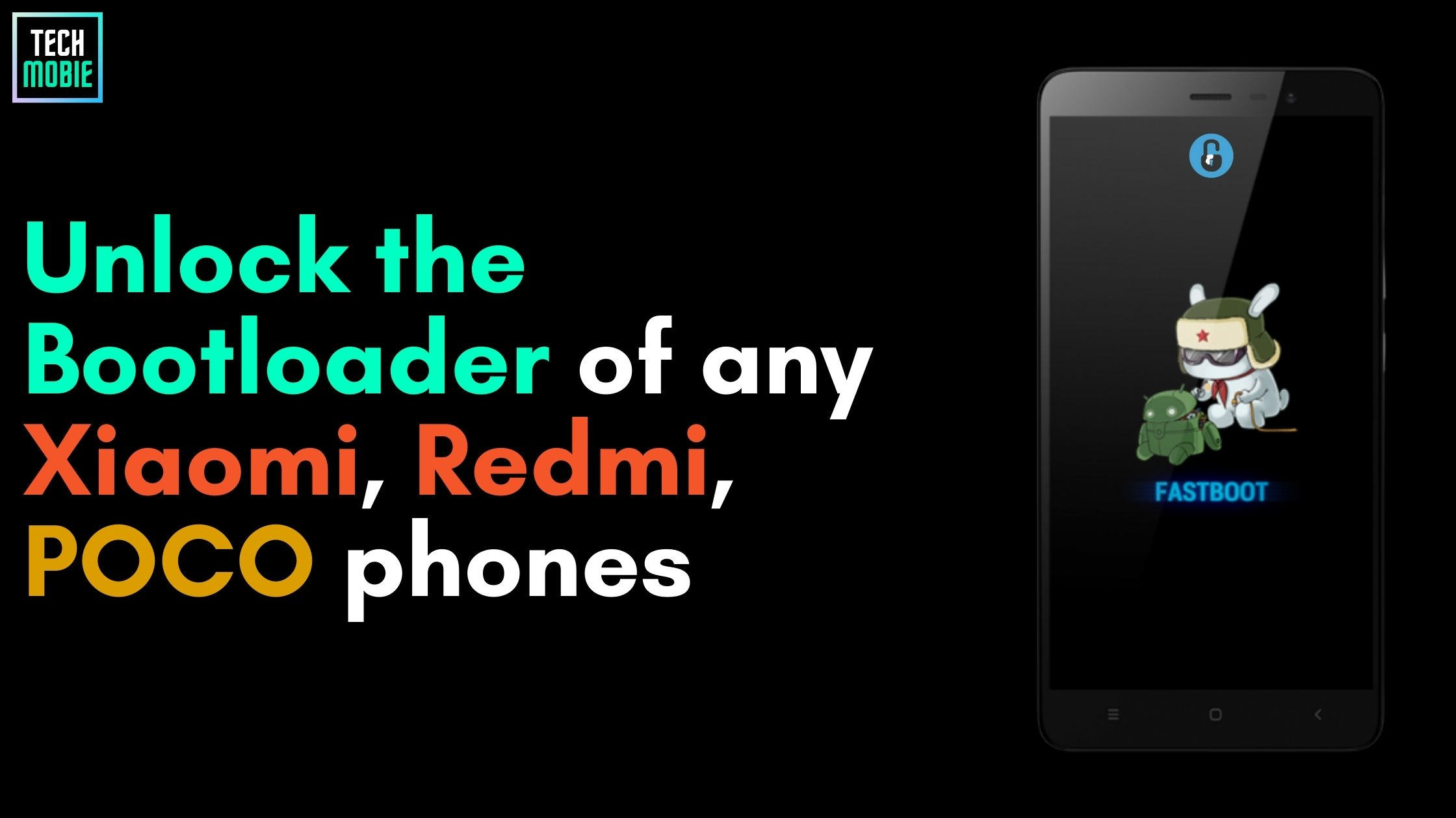 Unlock Bootloader of any Xioami, Redmi and Poco phones.