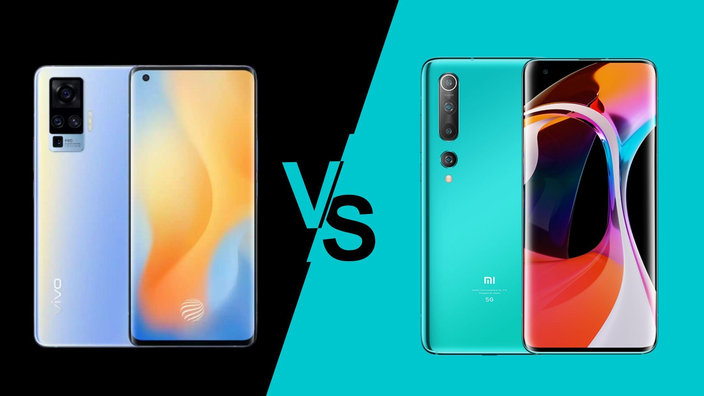 Vivo X50 Pro vs Mi 10
