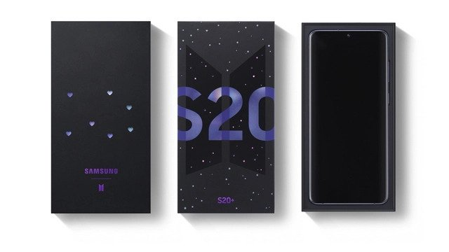 Galaxy S20 Plus BTS Editon